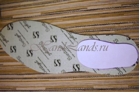 мастер-класс пошив пинеток