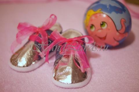 шьем кроссовки малышу