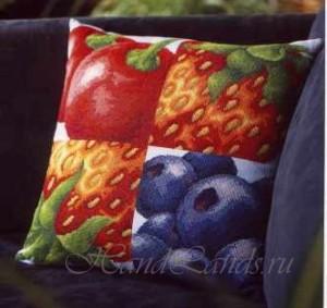 ягодная подушка