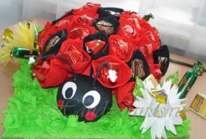 конфетные букеты