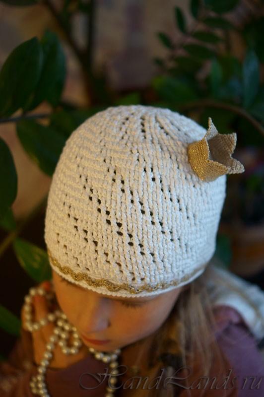 шапка с короной